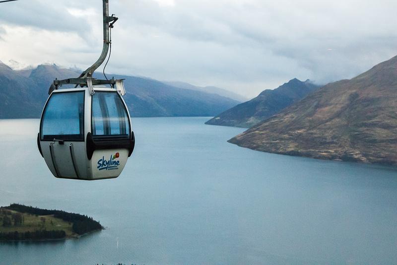 Skyline Gondola over Lake Wakatipu