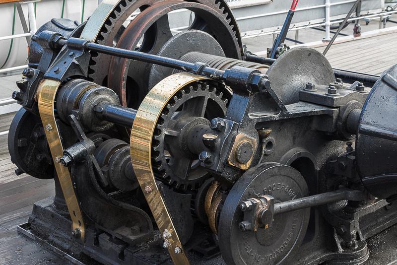 Steamboat Earnslaw hoist