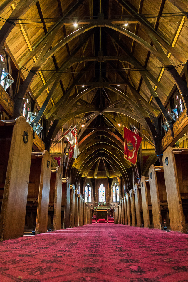 Old St. Paul's Chruch interior #2, Wellington, NZ