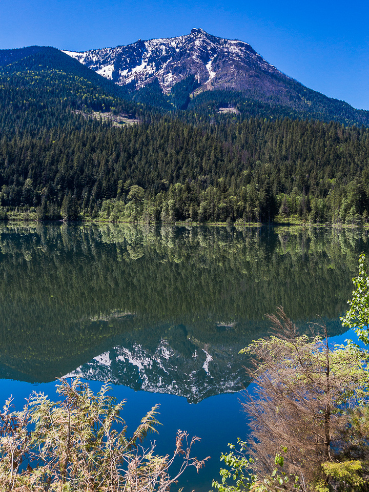 Griffin Lake reflection, BC
