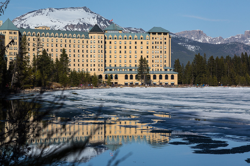 Chateau Lake Louise & Spring Ice