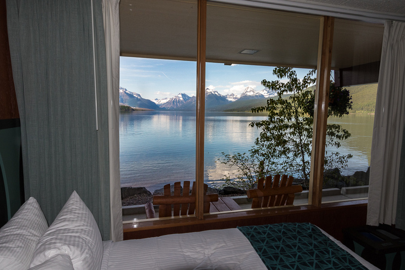 Lake MacDonald from Motel room