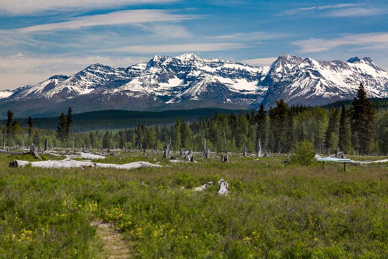 Northern US Rockies from Polebridge