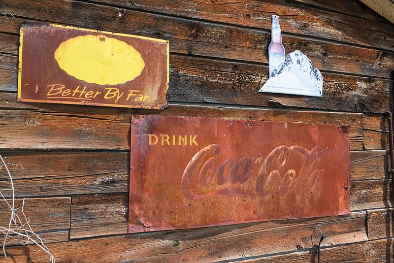 Polebridge signs