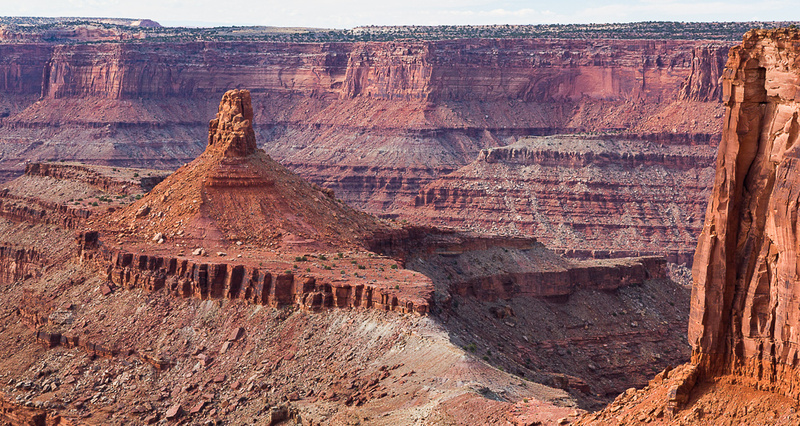 A Chimney Butte, Dead Horse Point SP