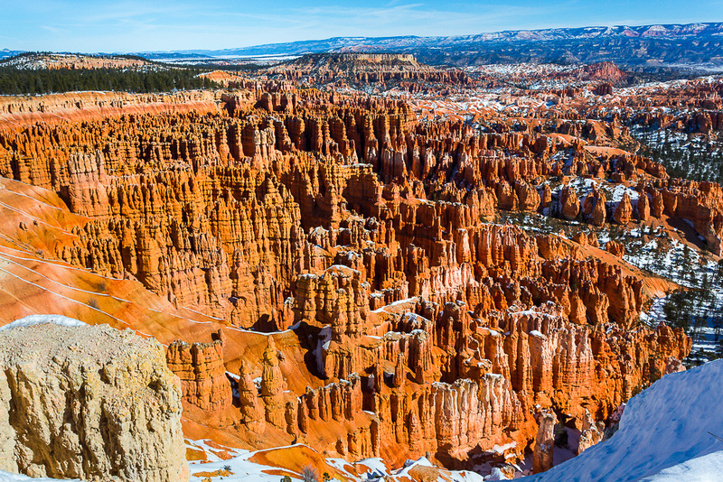 Bryce canyon, midday from Inspiration Point #1