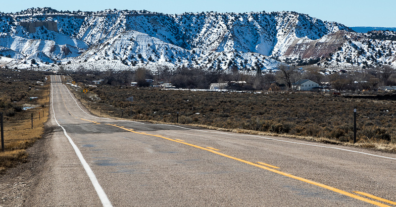 Scenic Byway 12 near Henrieville, Utah