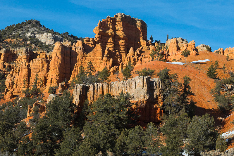 Red Canyon SP  from Thunder Mountain Trailhead #1