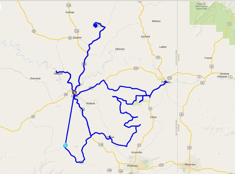 02 2015-10-01 Map - Palouse 1
