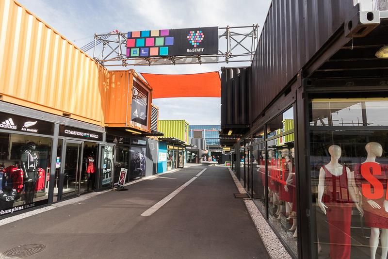 Re:start Mall  Christchurch NZ