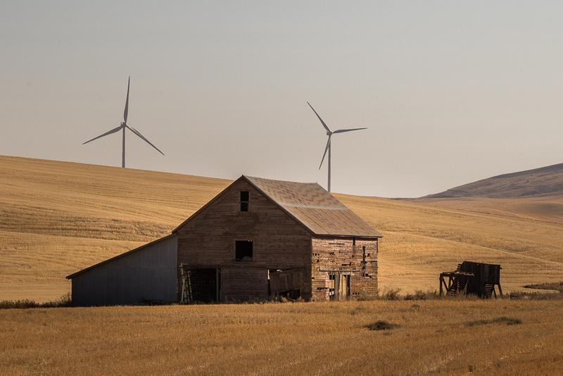 Barn and Wind
