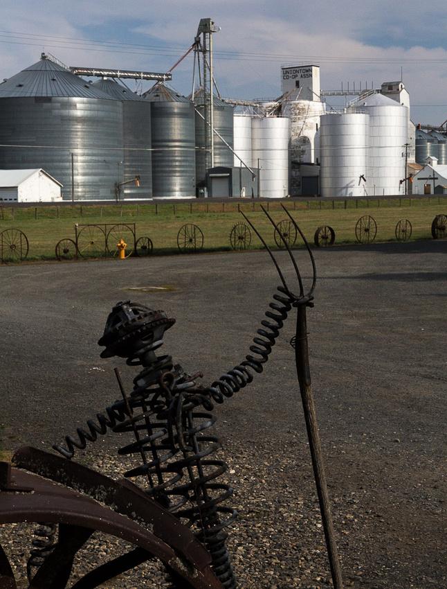 Wheat proccessing facility & itron farmer