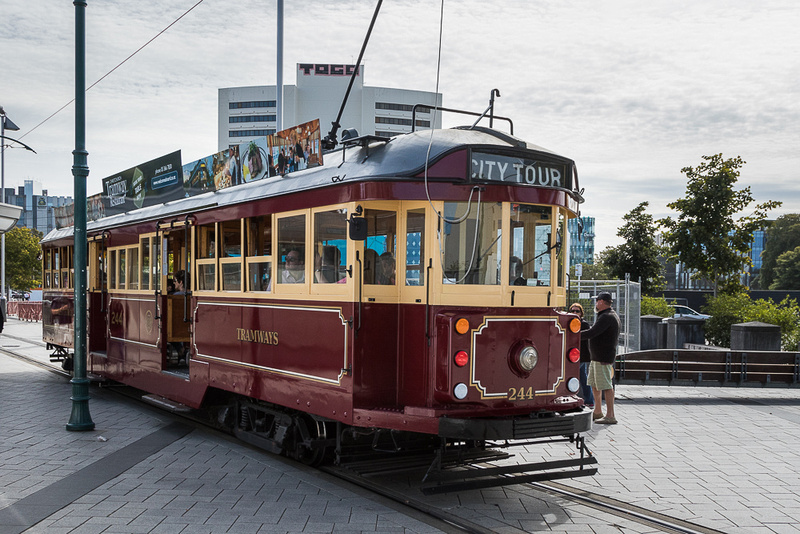 Christchurch streetcar