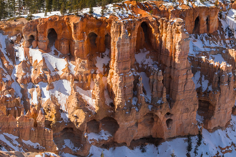 Brcye canyon weathered wall from Bryce Point #1