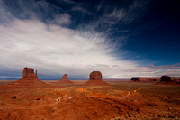 East & Merrick Buttes, Monument Valley