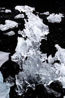 Iceberg on Jökulsárlón Iceberg Beach #10
