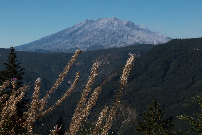 Mt. St. Helens from the East side #2