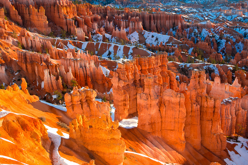 Bryce canyon in early morning from Sunset Point #3