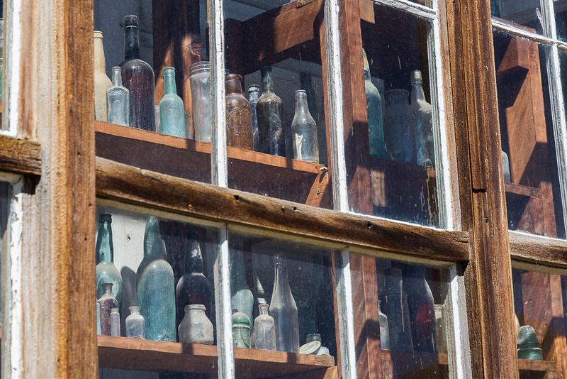 antiuque Bottles in Bodie